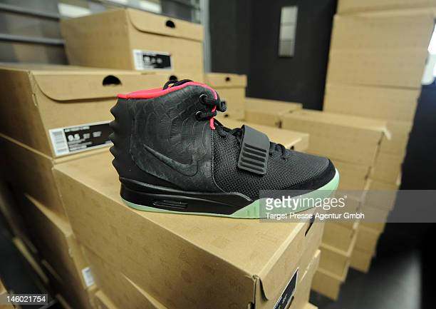 0a93de2a2af2e The  Solebox  store presents the new Nike Air Yeezy 2 shoe on June 9
