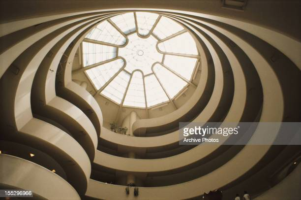 The Solomon R Guggenheim Museum in Manhattan New York City circa 1960