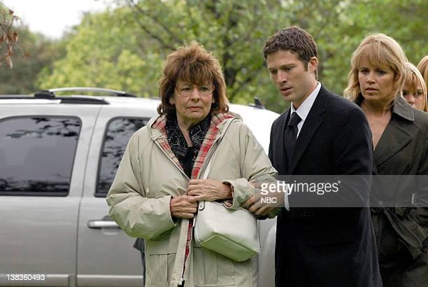 LIGHTS 'The Son' Episode 405 Pictured Louanne Stephens as Grandma Saracen Zach Gilford as Matt Saracen Kim Dickens as Shelby Saracen