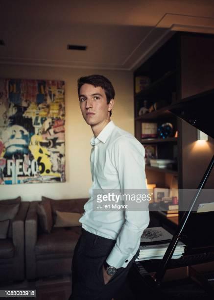The son of LVMH chairman Bernard Arnault, Alexandre Arnault poses for a portrait on September 2018 in Paris, France.