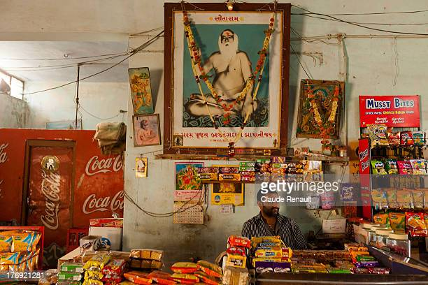 The son of the owner of the Bus Stand restaurant in Palitana, my breakfast place.