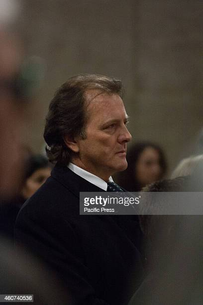 The son of Virna Lisi Corrado Pesci attended the funeral of the Italian actress Virna Lisi who died at aged 78nt