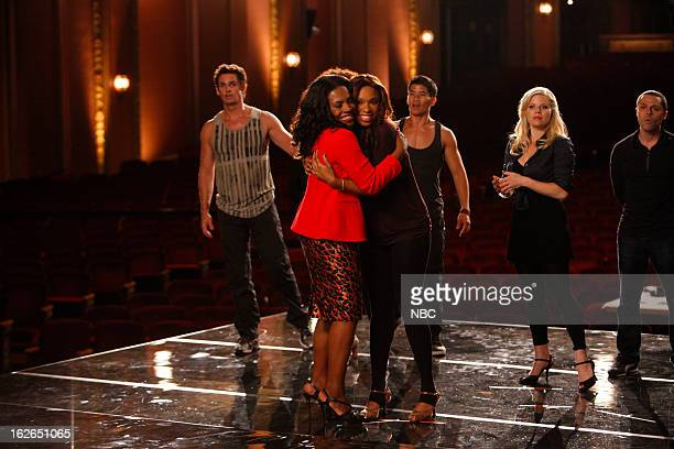 SMASH The Song Episode 204 Pictured Sheryl Lee Ralph as Cynthia Jennifer Hudson as Veronica Moore Megan Hilty as Ivy Lynn
