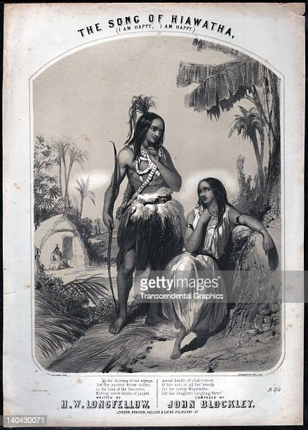 the song of hiawatha stock photos and pictures getty images the song of hiawatha the fine lithographic cover was printed in london england around 1850