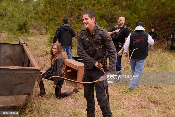 REVOLUTION The Song Remains the Same Episode 113 Pictured Tracy Spiridakos as Charlie Matheson JD Pardo as Nate
