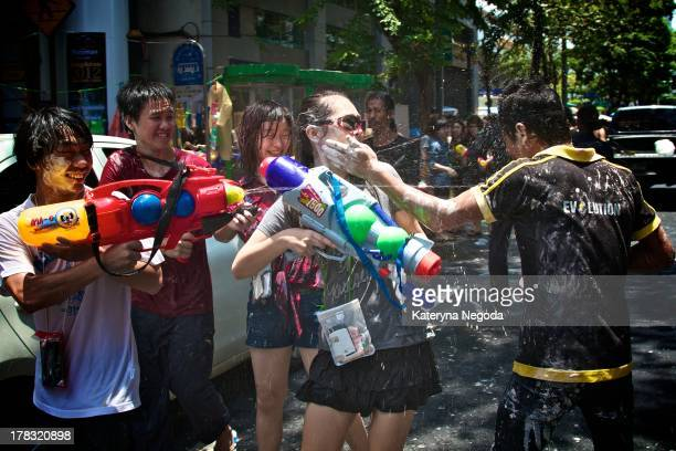 The Songkran festival is celebrated in Thailand as the traditional New Year's Day from 13 to 15 April. The most obvious celebration of Songkran is...