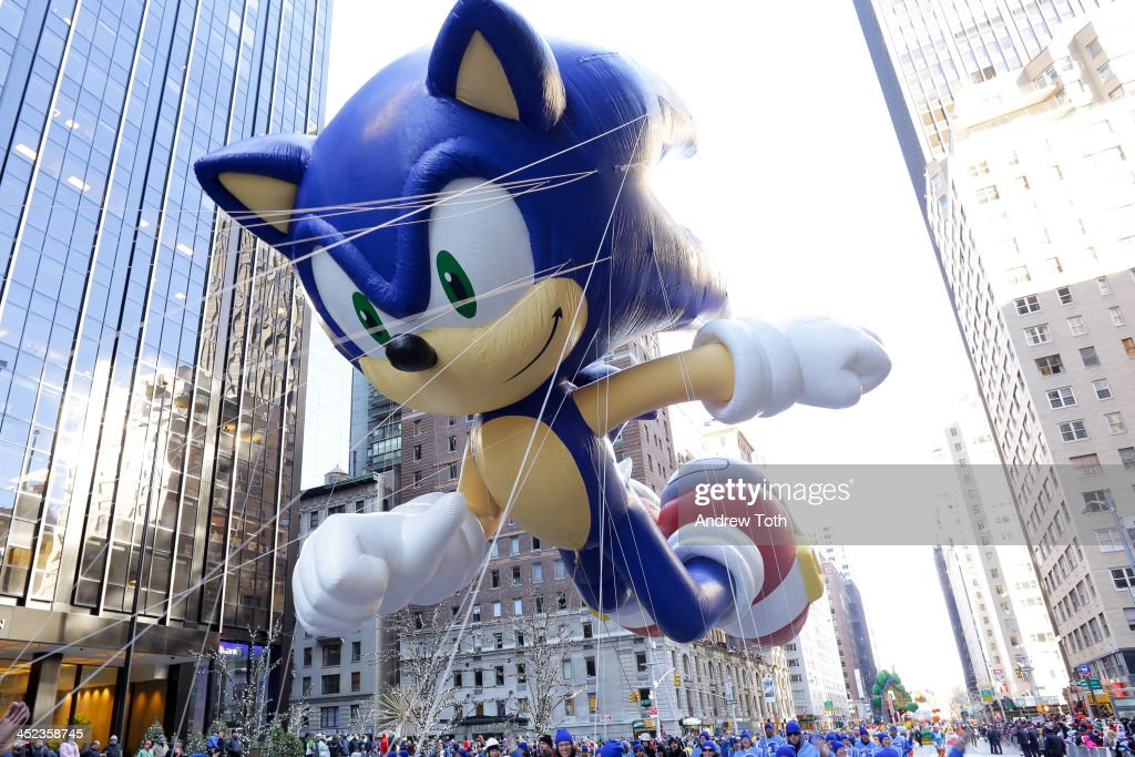 Sonic The Hedgehog - Thanksgiving Day Parade : News Photo