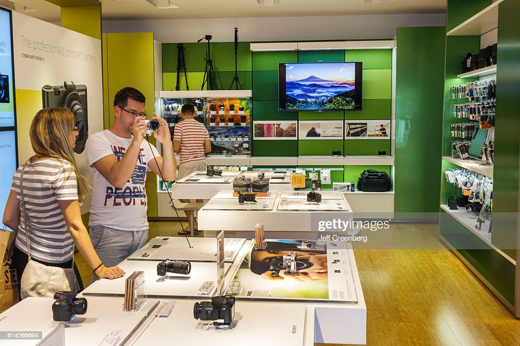 The Sony Store inside Aventura Mall. Pictures | Getty Images