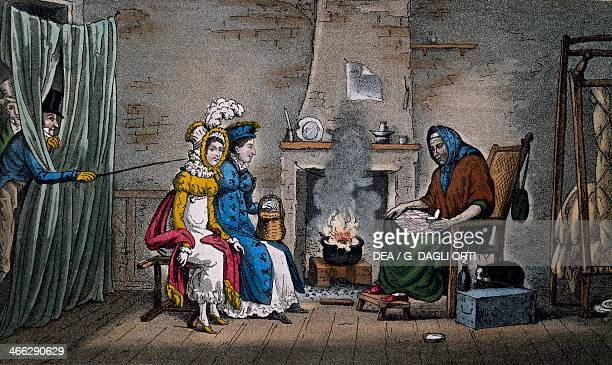 The soothsayer engraving England 19th century
