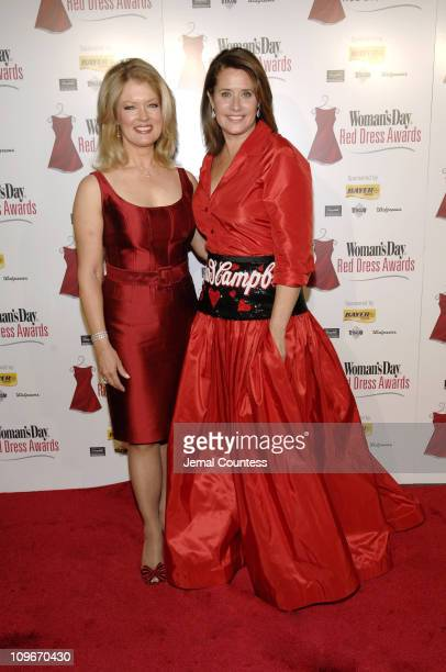 The Sopranos' star Lorraine Bracco and Entertainment Tonight's Mary Hart put their hearts into raising awareness of heart disease at the Woman's Day...