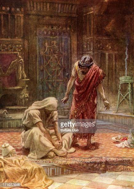 15 18 ' And the LORD struck the child that Uriah's wife bare unto David and it was very sick 16 David therefore besought God for the child and David...
