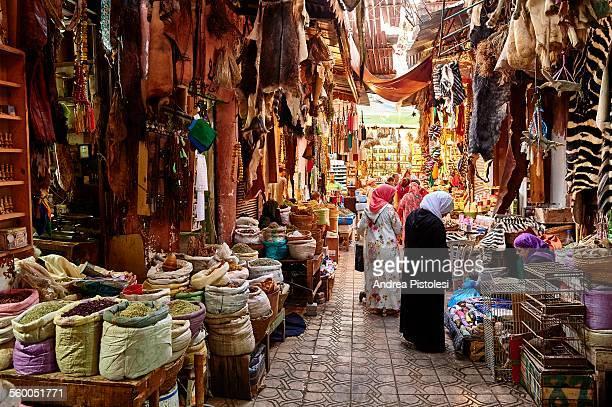 The Souk of Marrakech, Morocco