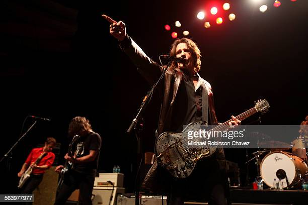 The Sound City Players a supergroup headed by Dave Grohl of the Foo Fighters played a sold out show at the Hollywood Palladium on Thursday night 80s...