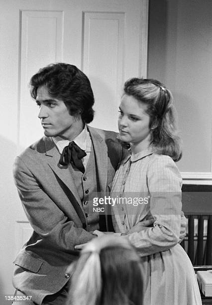 PRAIRIE The Sound of Children Episode 18 Aired 2/5/79 Pictured Linwood Boomer as Adam Kendall Melissa Sue Anderson as Mary Ingalls Kendall