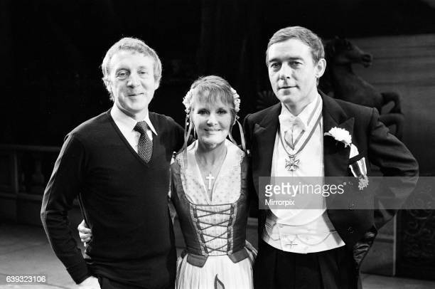 The Sound of Music' is now appearing at the Apollo Theatre in London Pictured is Petula Clark as Maria and Michael Jayston as Captain Von Trapp with...