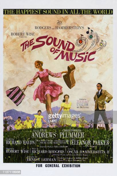 The Sound Of Music poster Australian poster Julie Andrews Christopher Plummer 1965