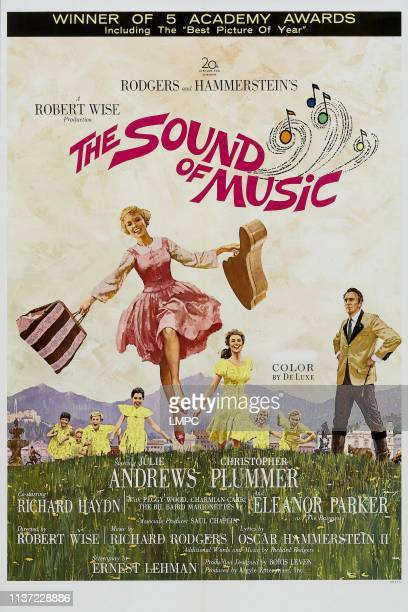 The Sound Of Music poster Julie Andrews 1965