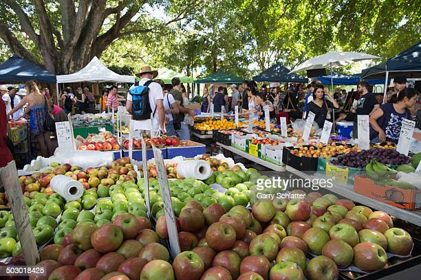 CONTENT] The source of seasonal fresh food from a variety of producers brings people together every weekend