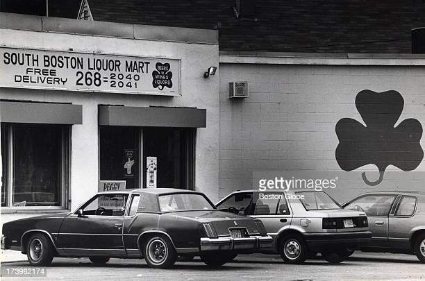 "The South Boston Liquor Mart in South Boston, where James ""Whitey"" Bulger and his associates bought a winning lottery ticket. The liquor store has..."