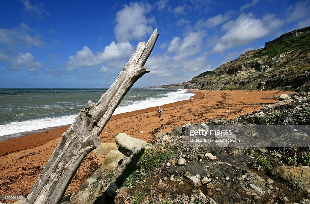 The south coast of the isle : Stock Photo