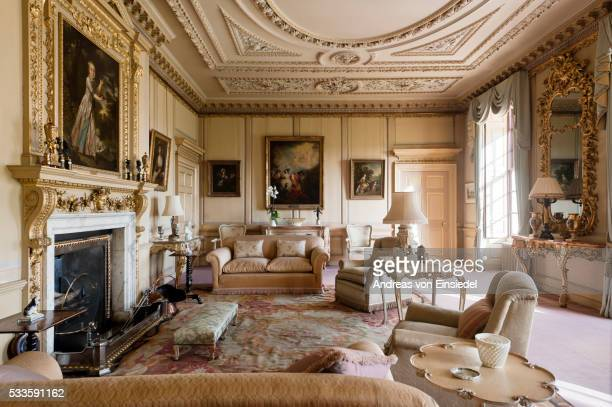 The South Drawing Room at Wimpole Hall, Cambridgeshire.
