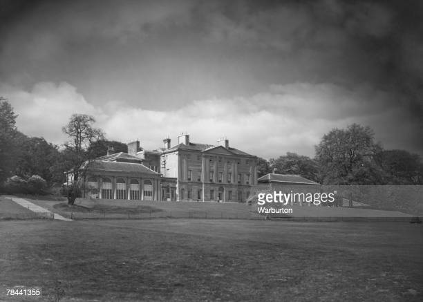 The south frontage of Kenwood House which houses the Iveagh Bequest art collection Hampstead Heath London 16th May 1950