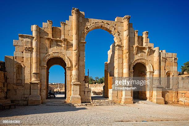 The South Gate of the Ancient City of Jerash