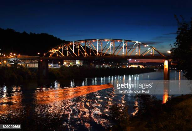 The South Side Bridge over the Kanawha River in Charleston is one of many bridges that connect the two side of the city separated by the river...
