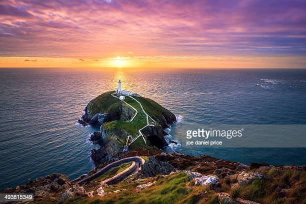 The South Stack near Holyhead, Anglesey, Wales