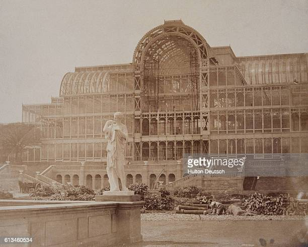 The south transept of the Crystal Palace built for the Great Exhibition of 1851 after being reconstructed in Sydenham Originally in Hyde Park it was...