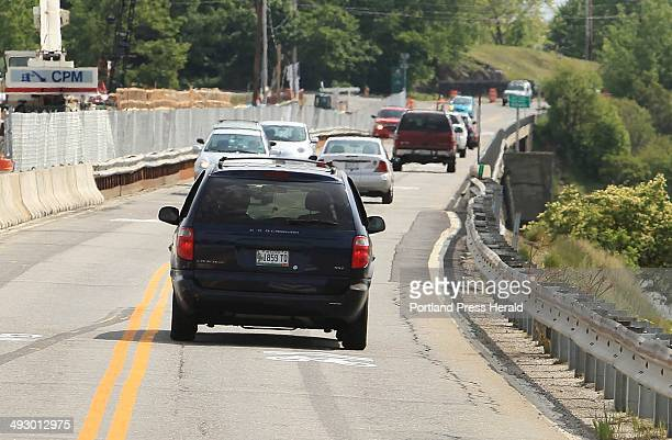 The southbound lane of the Martin's Point Bridge in Portland is where cyclist James Riley of Portland had an altercation with an aggressive driver....