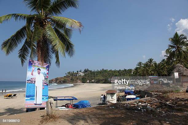 The southern Indian state of Kerala also called 'God's Own Country' the world famous beach of Kovallam This beach on the coast of the Arabian Sea in...