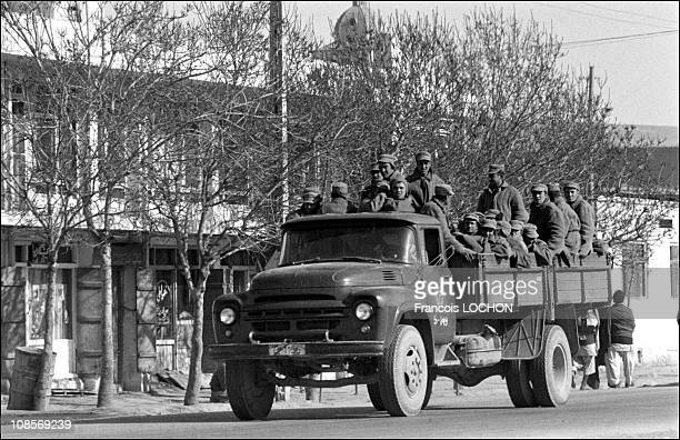 The Soviet army in Kabul, Afghanistan on December 31st, 1979.