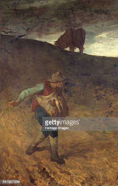 The sower' 18478 Artist Jean Francois Millet