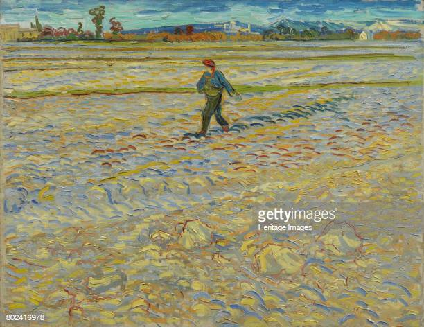 The sower 1888 Found in the collection of HahnloserJaeggli Stiftung Winterthur