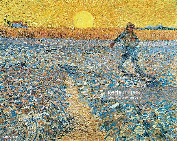 The sower by Vincent van Gogh Otterlo Rijksmuseum KrollerMuller