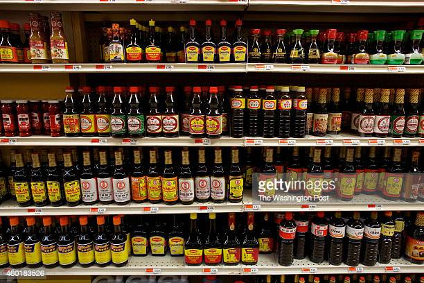 The Soy Sauce aisle at Great Wall Supermarket