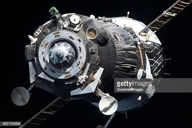 The Soyuz TMA-09M spacecraft.