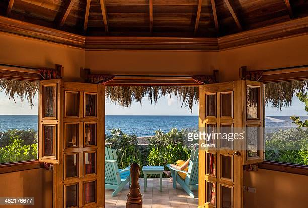 The Spa Retreat hotel cottage with thatched roof Jamaica