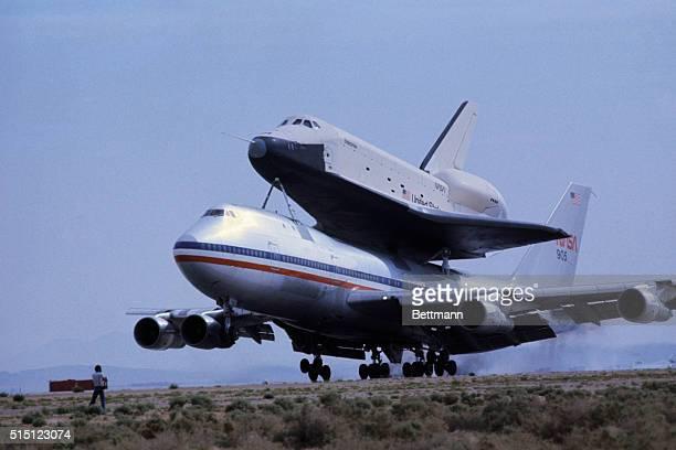 space shuttle enterprise landing - photo #43