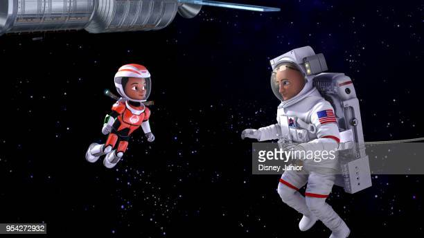 ONE The Space Station Situation Miles and his friends travel back in time to prevent the International Space Station from getting stuck in the future...