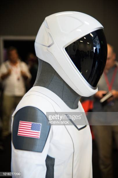 The SpaceX spacesuit to be wore by NASA astronauts that will travel to the International Space Station aboard the SpaceX Crew Dragon capsule is...
