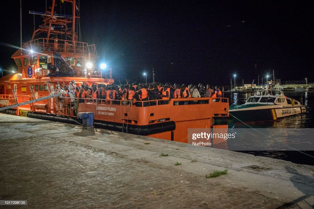New Rescued Migrants Arrives In Spain