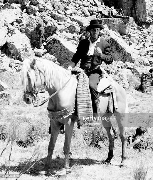 The Spanish actor Francisco Rabal during the filming of the movie 'Llanto por un bandido' Madrid, Castilla La Mancha, Spain. .