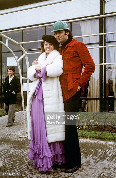 The Spanish actors Carmen Sevilla and Maximo Valverde Madrid Spain