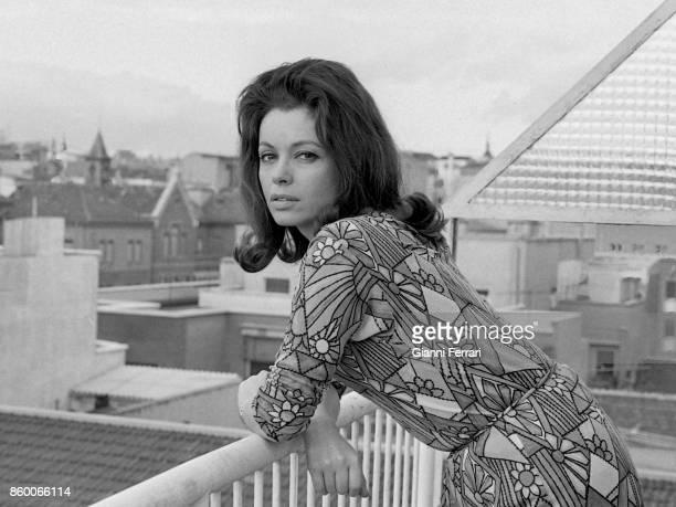 The Spanish actress Ana Casares Madrid Spain