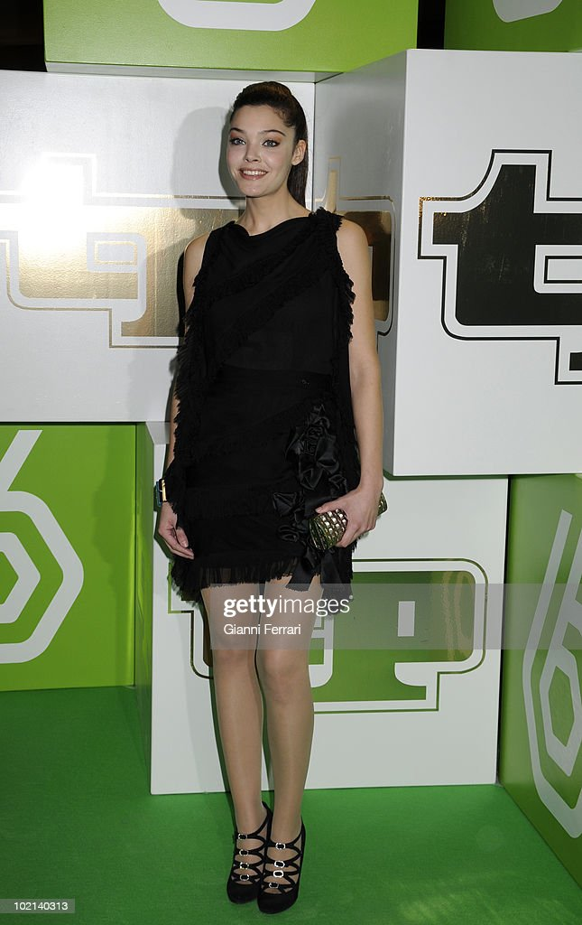 The spanish actress Ana Rujato the delivery of the awards 'TP of Gold' for the best presenters, actors and programs of the Spanish televisions, 10 February 2009, 'Palacio de Congresos', Madrid, Spain.
