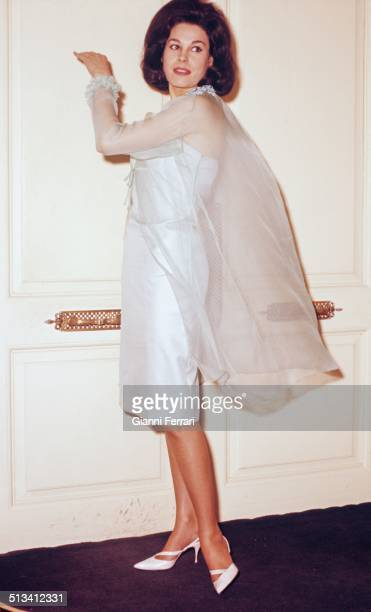 The Spanish actress and TV presenter Laura Valenzuela at her home in Madrid Madrid Spain