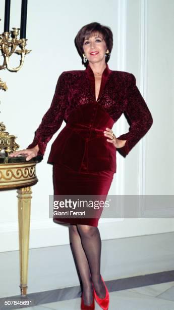 The Spanish actress Concha Velasco 24th January 1996 Madrid Spain