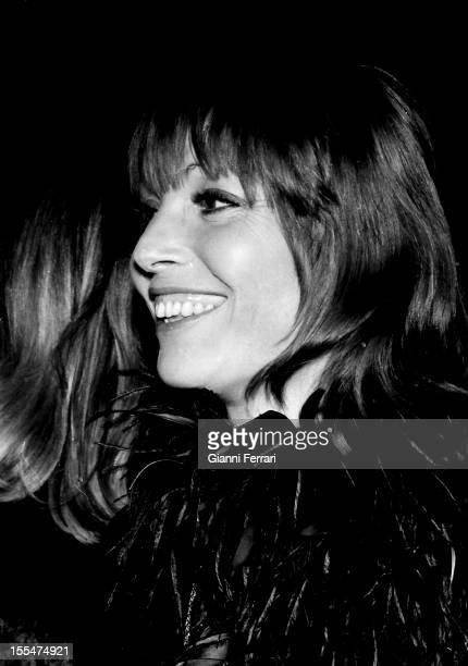 The Spanish actress Elsa Martinelli in Madrid Madrid Castilla La Mancha Spain